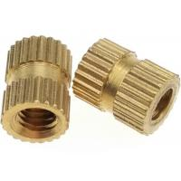 Buy cheap M6 Brass Round  Knurled Thumb Nuts for Screw Bolts Female Hardware from wholesalers