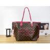 China Louis Vuitton M40877 Old flower skin coffee rose red women large bag - shoulder bag wholesale