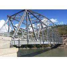 China Single Lane Prefabricated Single Span Truss Bridge High Strength Q345b Material wholesale