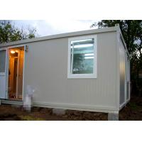 China Temporary Residence Modular Container House Steel Door With Sanitary Facilities wholesale