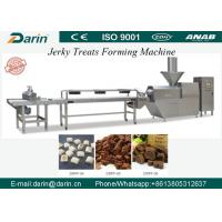 Buy cheap Automatic Meat Jerky Treat Forming Machine / Pet Food Production Line with ABB or Schneider Electric parts from wholesalers