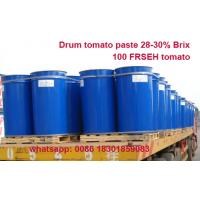 China Supply high quality good price tomato paste 28-30% brix CB and HB produced with 100% fresh tomatoes on sale