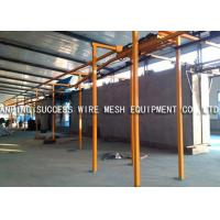 China Eco Friendly Wire Fence Making Machines , PVC Wire Coating Machine Various Colors wholesale