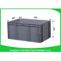China Customized Large Plastic Storage Containers , Warehouse Stackable Plastic Boxes wholesale