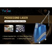 China nd:yag laser pico 1064nm/532nm ; 585nm/650nm/755nm Optional pico second q switched nd yag laser wholesale