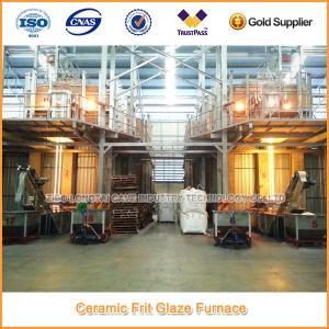 China 30 tons Ceramic Frit Glass Furnace Prodution Line wholesale