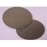 China Dutch Woven Filter Screen Mesh Good Filter Performance For Petroleum Chemical Industry wholesale