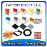 China 77mm Ring Adapter+filter Holder+nd2+nd4+nd8+ Graduated Color Filter wholesale