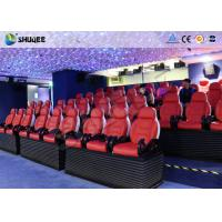 China Deft Novel Motion 5D Theater Equipment With 12 Special Effects CE ISO9001 wholesale