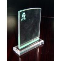 China 4mm PMMA Acrylic Menu Holder , Advertising Posters Display Stand wholesale