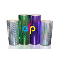 China BOPP Laser Holographic Film For Lamination Machine 180mm - 1300mm Width wholesale