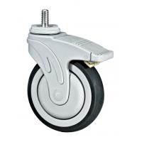 China Double Locking Medical Caster Wheels For Medical Device Application 5 Inches wholesale