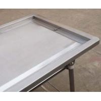 Quality Foldable Stainless Steel Embalming  Operating Autopsy Tables Mortuary Products for sale