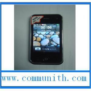 China W006 (i9+++ /3GS/T2000) Iphone WIFI JAVA Quad Band Dual SIM Iphone Mobile Phone wholesale