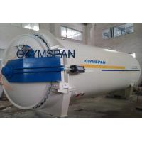 China Wood Glass Laminating Autoclave Door , Pressure In Autoclave By Plc Automatic Control wholesale