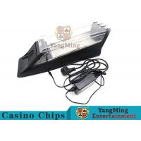 China Electric Control Casino Card Shoe Built - In High Speed Recognition Sensor wholesale