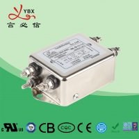 Buy cheap ISO9001 Standard AC Power Noise Filter, Single Passive AC RFI EMI Filter two from wholesalers