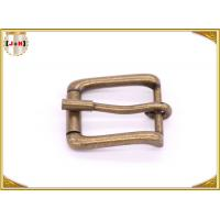 China Antique Brass Rolling Custom Metal Bag Buckle , Handbag Making Accessories wholesale