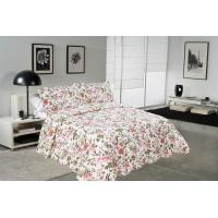 Buy cheap Chrysanthemum Pattern Colourful Quilt Covers , Home King Queen Size Bed Quilt Covers from wholesalers