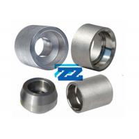 China 1 / 8 - 4 Inch Threaded Pipe Fittings , Alloy Steel Weldable Pipe Fittings wholesale