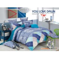 China Beautiful Polyester Materail Home Bedding Sets , Custom Size Toddler Bedding Sets wholesale