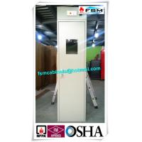 China Steel Safety Storage Cabinets With Fixed Belt For Storing Gas Cylinder / Oil Drum wholesale