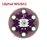 China LilyPad Pixel Board WS2812 Full Color Drive LED Development Board wholesale