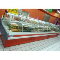 China Commercial Deli Display Coolers For Fish With 2~8 ℃ 35~65℃ Temperature on sale