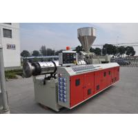 China Wide Thick WPC PVC Foam Board Production Line Extruder Single Screw / Twin Screw wholesale