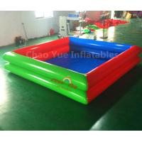 China Commercial Grade Double Layers Colorful Inflatable Water Swimming Pool for water walking ball wholesale