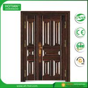 China China Factory TOP Sale One Single and Half Steel Security Door, Metal Door, Iron Entrance Door on sale
