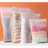 China BPA-Free Frosted Soft PEVA Travel Plastic Ziplock Bags Travel Kit Ziplock Pouches wholesale