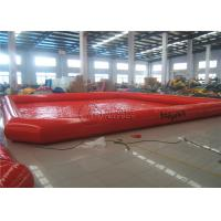 China Large Multifunctioin Inflatable Water Pool Zorb Ball Swimming Wading Pool on sale