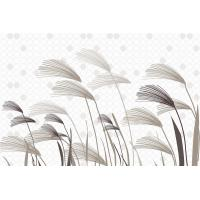 China Lightweight Bamboo Fiber Wall Decor Panels Reeds In Wind 8mm Thickness wholesale