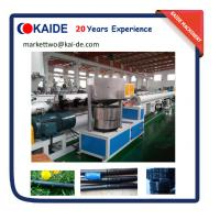 Buy cheap Dual Use HDPE+Round Drip Irrigation Pipe Making Machine product