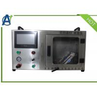 China ASTM Textile Test Equipment , Under 45 ° Combustion Test Equipment on sale