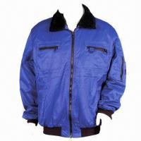 China Work Jacket, Made of Nylon/Cotton wholesale