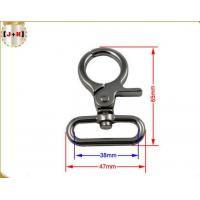 China Zinc Alloy Metal Swivel Snap Hook Trigger Clips For Dog Leads 38MM Inner Size wholesale