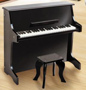 China Upright Mini 49 Key Toy Wooden Piano Toy Baby Grand Piano With Music Sheet U49B wholesale