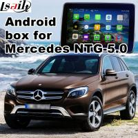 Buy cheap Android GPS navigation box interface for mercedes-benz NTG5.0 with rear view WiFi mirror link cast screen product