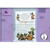 China Decorative Aroma Oranges Scented Envelope Sachet For Living Room wholesale