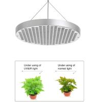 China 150 Watt Round UFO LED Grow Lights For Greenhouse , 50~60Hz Frequency wholesale