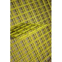 China plastic coated Yellow metal mesh fencing panels / Galvanized Mesh Wire Cloth on sale