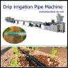 China Drip Tube Making Machine with round dripper inside/drip irrigation pipe machine price wholesale
