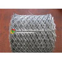 China Lightweight Flattened Expanded Metal MeshLow Carbon Steel Hot Dipped Galvanized on sale