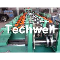 China Auto Size Changeable C Z Shaped Purlin Roll Forming Machine With Gimbal Gearbox Drive wholesale