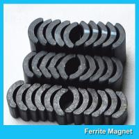 China Powerful Ceramic Ferrite Arc Magnet Sintered Permanent Magnets Customized wholesale