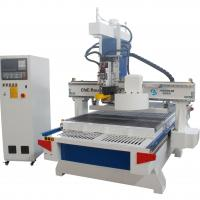 China Auto Tool Changer Woodworking CNC Router Machine With Four Spindles Multi Heads wholesale