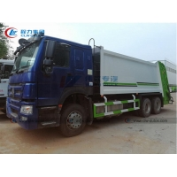 China China HOWO 18m3-20cbm Compactor Refuse Transport Trucks 6*4 Compressed Garbage Waste Collection Dustcart Truck wholesale
