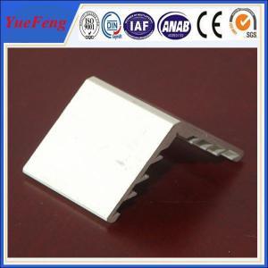 China 6063 aluminium angle extrusion profiles for solar panel frame wholesale